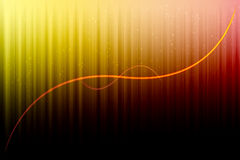 Colorful background. Colorful abstract desktop background with yellow line Stock Photography