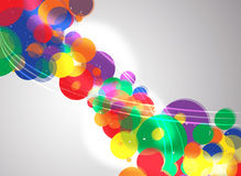 Colorful background. Abstract colorful background (colorful circles Royalty Free Stock Photo