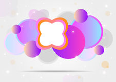 Colorful  background. Colorful  background with abstract forms for your unique celebrations or web Royalty Free Stock Photos