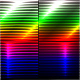 Colorful Background with 3D Lights Effect. Accurate illustration with a study of light and 3D effect Stock Photography