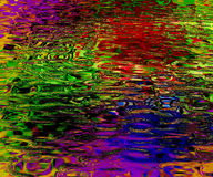 Colorful background. Looks like liquid rippling on surface Royalty Free Stock Images