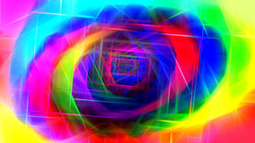 Colorful abstract art print Stock Photos