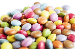 Colorful background of assorted candys Royalty Free Stock Image