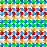 Colorful background with balls Stock Photos