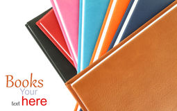 Colorful background of books Royalty Free Stock Photo