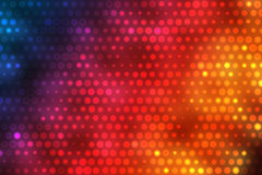 Colorful Background With Bright Dots. 2D rendered image of colorful background Stock Images