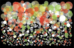 Colorful background with bubbles Royalty Free Stock Images