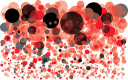 Colorful background with bubbles Royalty Free Stock Photos