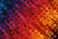 Colorful Background With Bubbles Pattern Effect. 2D rendered image with bubbles pattern effect Royalty Free Stock Image