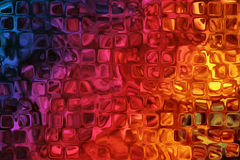 Colorful Background With Bumpy Glass Effect Royalty Free Stock Photo