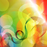 Colorful background with circles Royalty Free Stock Image