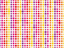 Colorful background. Composed of different sized dots royalty free illustration