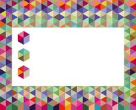 Colorful background with cubes Royalty Free Stock Image