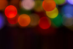 Colorful background with defocused lights.  Royalty Free Stock Photo