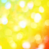 Colorful background with defocused lights, bokeh Stock Photo