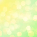 Colorful background with defocused lights, bokeh Stock Photography