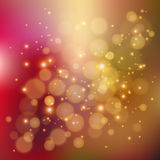 Colorful background with defocused lights Stock Photo