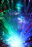 Colorful background of fiber optical network cable.. Colorful of fiber optical network cable Royalty Free Stock Photo
