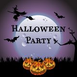 Halloween party concept Stock Photo