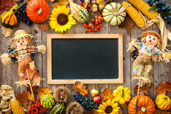 Colorful background for Halloween and Thanksgiving Royalty Free Stock Photography