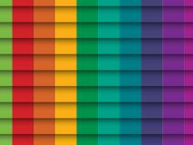 Colorful Background with horizontal lines Stock Photography