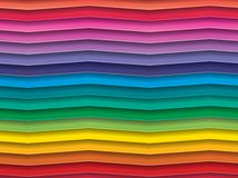 Colorful Background with horizontal wave lines Stock Photo