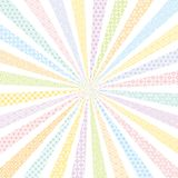 Colorful background with Japanese design. Royalty Free Stock Images