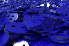 Colorful background made from sewing buttons Royalty Free Stock Images