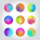 Colorful background in polygonal style Royalty Free Stock Photo
