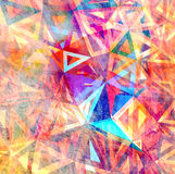 Colorful background with polygons Stock Photos