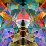 Colorful background with polygons Royalty Free Stock Photography