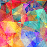 Colorful background with polygons Royalty Free Stock Photo