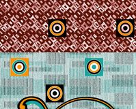 Colorful background print textile design. Textile print design Royalty Free Stock Photography