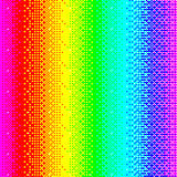 Colorful background with rainbow dots. Vector illustration EPS 10 Stock Photography