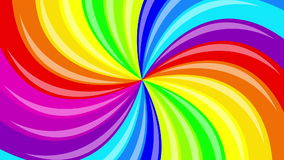 Colorful background rainbow stock footage