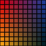 Vektor, Colorful background ,rainbow squares,mosaic, black Stock Photos