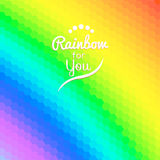 Colorful background with rainbow waves with mosaic Stock Photos