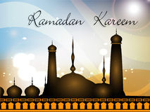 Colorful background of Ramadan Kareem Stock Photo