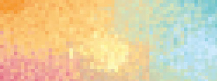 Colorful background red orange yellow green blue mix -  illustration Royalty Free Stock Photo