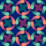 Colorful background rings. Abstract wallpaper. Modern geometric pattern design. business or technology presentation design templat. Colorful background rings stock illustration