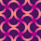 Colorful background rings. Abstract wallpaper. Modern geometric pattern design in retro memphis style, fashion 80-90s. Vector. Modern background with circle and stock illustration