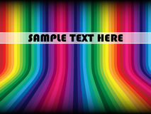 Colorful background with sample text Stock Images