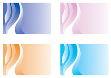 Colorful Background Set Royalty Free Stock Photos
