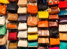 Colorful background of shopping bags Royalty Free Stock Image