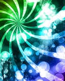 Colorful background. With some blurred lights on it Royalty Free Illustration