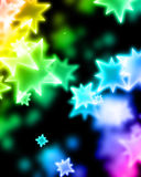 Colorful background. With some blurred lights on it Stock Photography