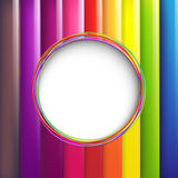 Colorful Background With Speech Bubble Royalty Free Stock Photos