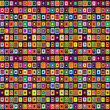 Colorful background with  squares Stock Photos