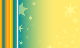 Colorful background with stars Royalty Free Stock Photos