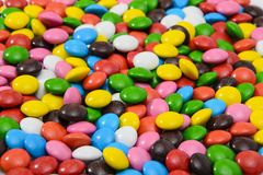 Colorful Background Sweet Tasty Bonbons Candy Royalty Free Stock Photography